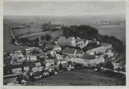 AK Fliegeraufnahme Luftbild Panschwitz Kuckau Gasthof Am Kloster St. Marienstern Bei Kamenz Elstra Burkau Crostwitz - Panschwitz-Kuckau