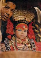 Asie NEPAL KUMARI (déesse Vivante Au Népal) (living Goddess)(bouddhisme  Religion) *PRIX FIXE - Nepal