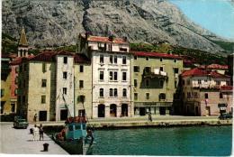 MAKARSKA ,SCENE DE PORT  ,COULEUR  REF 41652 - Croazia