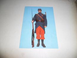 CPM Hôtel Des Invalides - Musée De L'Armée - Uniformes De La Guerre 1914 - 1918 - Soldat Du 27ème D'Infanterie 1914 - Uniformes