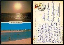 PORTUGAL COR 36296 - SANTIAGO DO CACÉM - LAGOA DE SANTO ANDRÉ - Setúbal