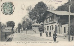 Collection De La Cie Des Tramways De BONSECOURS - Gare D'EAUPLET - Bonsecours