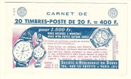 Couverture De Carnet VIDE - état Impeccable - Série 16.58 - Advertising