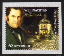 ÖSTERREICH 2013 ** Weihnachten / Franz Xaver Gruber, Komponist Stille Nacht - MNH - 1945-.... 2ème République