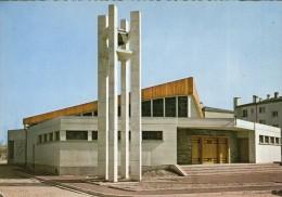 Y46 / DEPT 95 CPSM DENTELLEE 1960 LE PLESSIS BOUCHARD EGLISE ST FRANCOIS DE SALES NEUVE  VOIR DOS - Le Plessis Bouchard