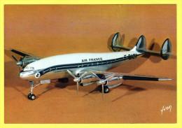 """C-P--S-M(Avions -(1946...Ere Moder..) Maquettes Du Musée De L´Air.1946-60.Lockheed L.749""""CONSTELLATION"""" - 1946-....: Moderne"""
