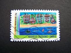 OBLITERE FRANCE ANNEE 2011 N° 638 SERIE DU CARNET OUTRE MER NOUVELLE CALEDONIE AUTOCOLLANT ADHESIF - France