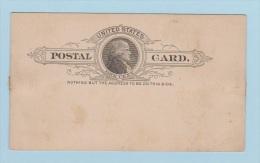 USA // Entier Postal  //  Vierge - 1901-20