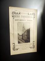 Echo Paroissial De SAINT-GERMAIN , Ardèche De Novembre/ Décembre 1932, 16 Pages - Livres, BD, Revues