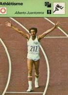ATHLETISME   **   ALBERTO JUANTORENA  ** MEDAILLE D'OR  400 M / 800 M / JO 1976 - Athlétisme