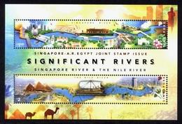 SINGAPORE 2011 - Rivières, Bateaux, émission Conjointe Avec Egypte  - BF Neufs // Mnh - Singapore (1959-...)