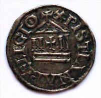 Z8- SUPERBE ! Monnaie CAROLINGIENNE Denier en Argent � la L�gende Chr�tienne de LOUIS LE PIEUX +822/840