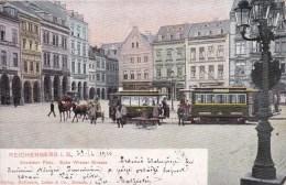 == CSR Liberec Reichenberg Wiener Strasse  1910 Tram - Tschechische Republik