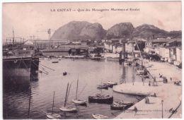 LA CIOTAT - Quai Des Messageries Maritimes - Et Escalet - Ed. Gavard - La Ciotat