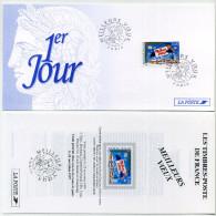 Carton 1er Jour + Feuillet. 22-11-1997 : Meilleurs Voeux - FDC