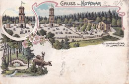 == Görlitz Zittau  Berg Kottmar  Restaurant Litho Nach Taunbenheim 1903 - Görlitz