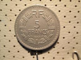 FRANCE 5 Francs 1950 - J. 5 Francs
