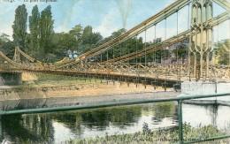CPA -  Liège - Pont Suspendu - N° 612 -  1 Coin Abîmé - Mais Bon État - - Liege