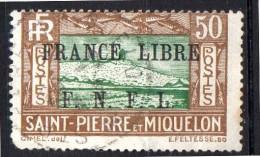 SPM Saint Pierre Et Miquelon N° 239  Oblitéré  Cote  30,00 Euro Au Quart De Cote - Oblitérés