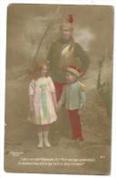 """Carte Postale Ancienne  """"patriotique""""militaire,sabre Et 2 Enfants - Patriotiques"""
