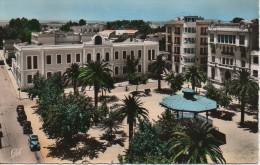Algérie  SIDI-BEL-ABES  La Place Carnot Et Le Tribunal - Sidi-bel-Abbès