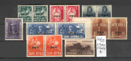 SWA (Namibia) - 216/29 Pa.Rüstug.gr.Format   Kpl.A.m.F. - África Del Sudoeste (1923-1990)