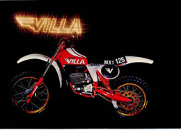 Villa 125 MX 1 81 Cross 1981 Depliant Brochure Originale Factory Brochure Catalog Prospekt - Publicités