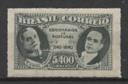 Brasil (1940) Yv. 372A  /  Portugal Anniversaires - Brésil