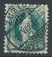 Suisse - 1882 - Y&T 72 - Oblit. - Switzerland