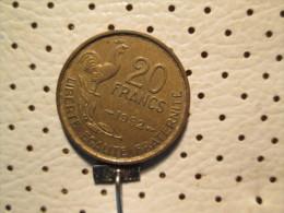 FRANCE 20 Francs 1952 - France