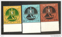 1964 Egitto Egypt UAR GIORNATA DELLA POSTA  POST DAY Serie Di 3v. MNH** - Posta