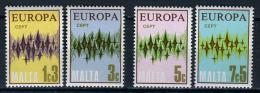 1972 - EUROPA CEPT - MALTA - Catg. Mi.  454/456 - MNH (**) - (V16012015...) - Malta
