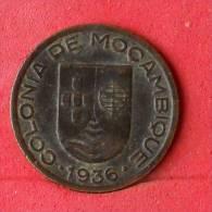 MOZAMBIQUE  10  CENTAVOS  1936   KM# 63  -    (Nº10515) - Mozambique