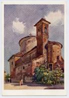 Formigine (Modena). Chiesa Dei Servi Di Maria (Acquarello Di A. Salvarani). - Modena