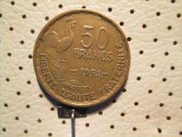 FRANCE 50 Francs 1952 - France