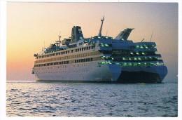 SCH-324   S.S.C. RADISSON DIAMOND ( Diamond Cruises) - Steamers