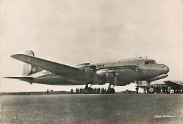 Réf : C-15-1450  : AVION AIR FRANCE DOUGLAS D C 4 - 1946-....: Modern Era