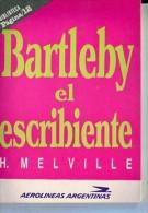 """""""BARTLEBY EL ESCRIBIENTE"""" DE H. MELVILLE- AÑO APROX. 1997- EDIT.PAGINA 12-PAG.94-NUEVO- GECKO. - Culture"""