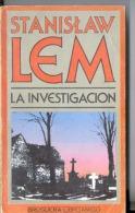 """""""LA INVESTIGACIÓN"""" DE STANISLAW LEM-AÑO 1979- EDIT.BRUGUERA- PAG.220 -GECKO. - Horror"""