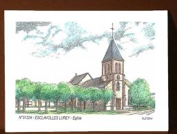 CP K 51334 - CARTE POSTALE DESSIN COULEUR - 51 ESCLAVOLLES LUREY - France