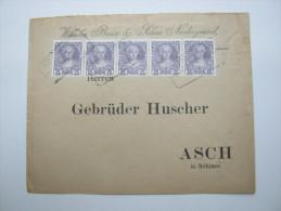 1908 ,  Niedergrund        , Klarer Stempel Auf  Brief - Briefe U. Dokumente