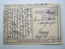 1915 , DOUAI ,  Carte  Militaire  A Allemagne - Postmark Collection (Covers)