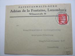 1943, Firmenbrief - Besetzungen