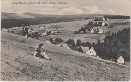 AK Tellerhäuser Erzgebirge Oberwiesenthal Gottesgab Breitenbrunn Rittersgrün Ehrenzipfel Zweibach Halbemeile Goldenhöhe - Sehmatal