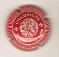 CAPSULE MUSELET CHAMPAGNE ARNAUD DE CHEURLIN (rouge Bord Strie) - Altri
