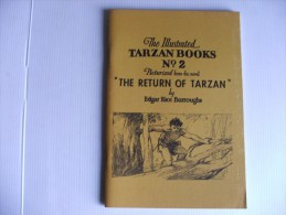 The Return Of Tarzan  Rex Maxon House Of Greystoke 1968 Bandes Journalières A1/A60 - Collections