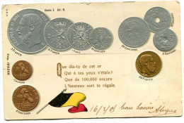 MONNAIE(GAUFREE) BELGIQUE - Monnaies (représentations)