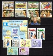 Samoa 1992 Michel 728-745, Block 50 Ships, Columbus, Olympic Games Barcelona, Orchids Etc. 17 Stamps + S/s MNH - Samoa