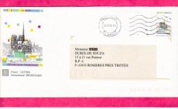 PAP Entier Postal 30A Entiers Postaux, Notre Dame Paris 14 CTC Bd Brune - PAP : Altri (1995-...)