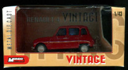 Renault 4 - R4 - 4L -  R4 Rouge  (Vintage) - Unclassified